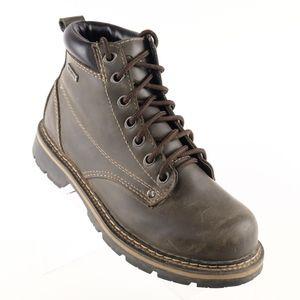 Avenger Work Boots 10 M Black Steel Toe Waterproof